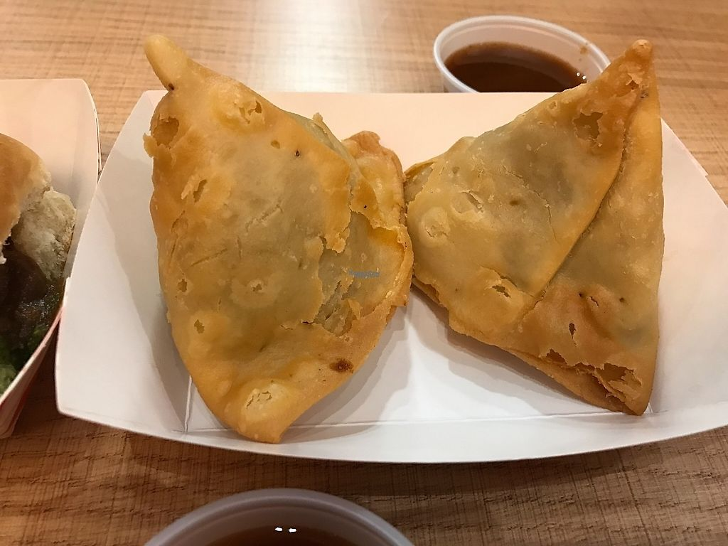 "Photo of Namaste Veg Kitchen   by <a href=""/members/profile/Tigra220"">Tigra220</a> <br/>Samosas <br/> December 28, 2016  - <a href='/contact/abuse/image/84063/205449'>Report</a>"