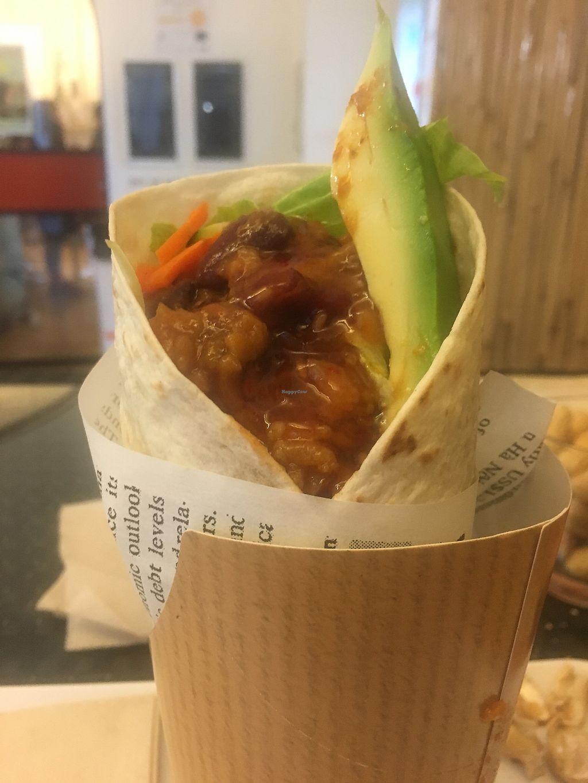 "Photo of Koko's International Street Food  by <a href=""/members/profile/KobeBlonner-Sullivan"">KobeBlonner-Sullivan</a> <br/>Vegan wrap <br/> November 10, 2017  - <a href='/contact/abuse/image/84068/323888'>Report</a>"