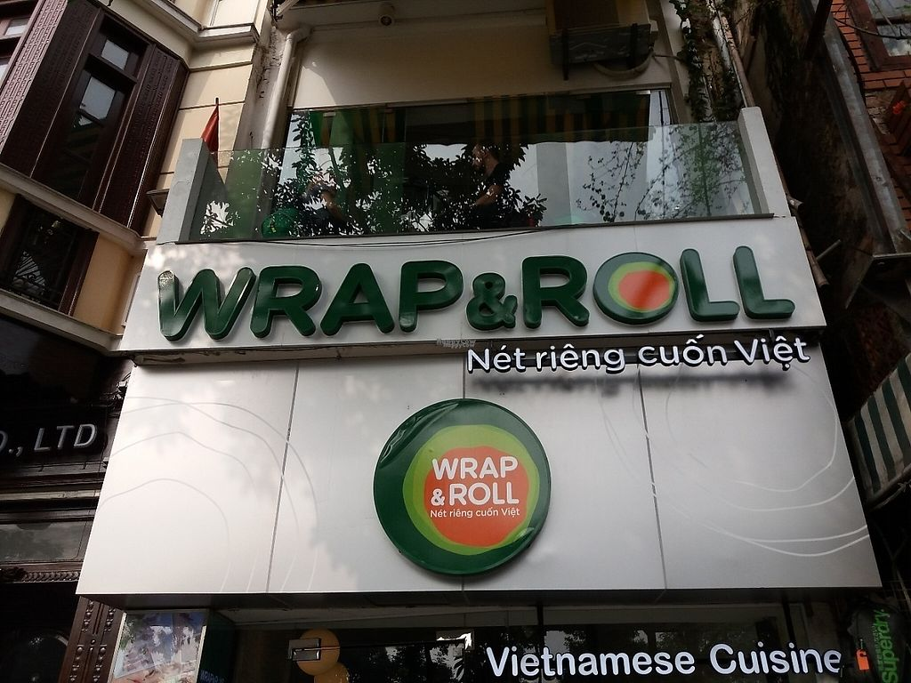 """Photo of Wrap and Roll  by <a href=""""/members/profile/veganvirtues"""">veganvirtues</a> <br/>Menu vegan options <br/> December 19, 2016  - <a href='/contact/abuse/image/84072/202876'>Report</a>"""