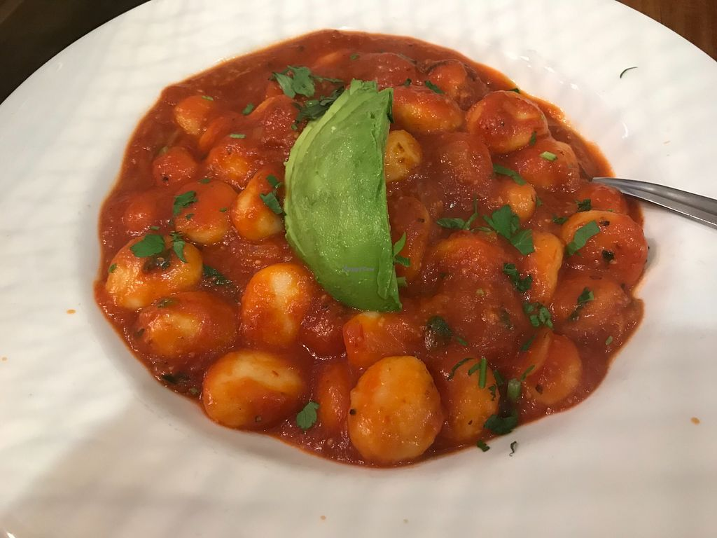"Photo of Oneworld Knox  by <a href=""/members/profile/AyeshaKieraan"">AyeshaKieraan</a> <br/>Gnocchi in a Napoli sauce bland, unadventurous, please change the sauce,  <br/> May 25, 2018  - <a href='/contact/abuse/image/84073/404900'>Report</a>"