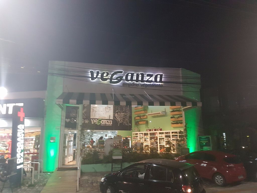 "Photo of Veganza Emporio  by <a href=""/members/profile/kennyp353"">kennyp353</a> <br/>Outside of the store by night <br/> June 26, 2017  - <a href='/contact/abuse/image/84075/273832'>Report</a>"