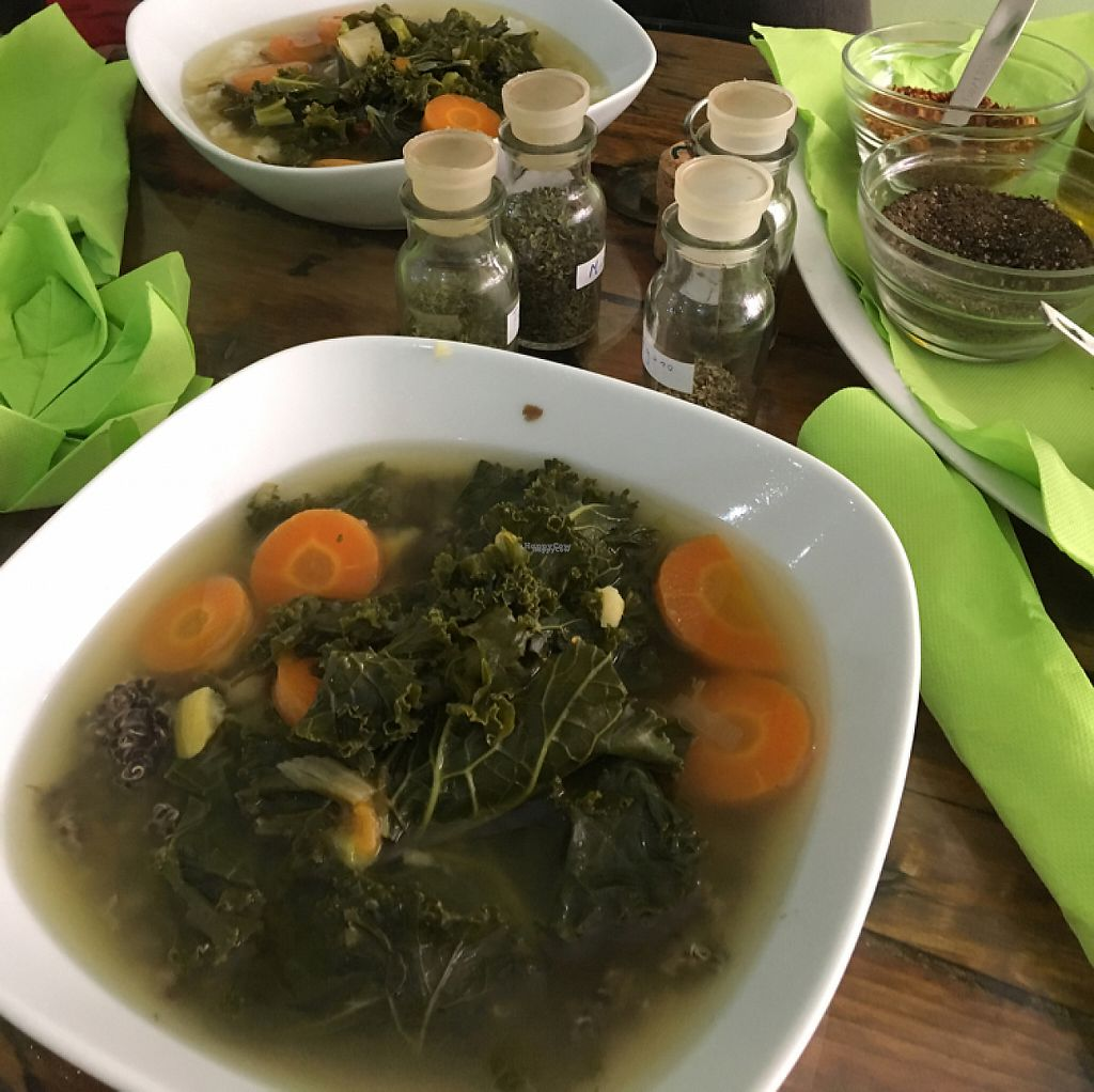 "Photo of GreenMood  by <a href=""/members/profile/Vegangypsy"">Vegangypsy</a> <br/>Warming vegetable soup  <br/> March 22, 2017  - <a href='/contact/abuse/image/84080/239392'>Report</a>"