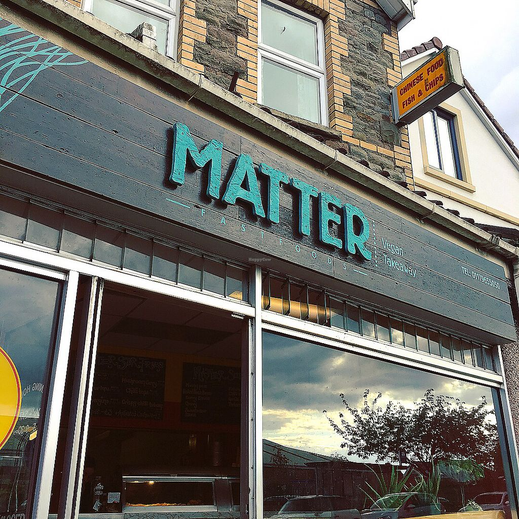 "Photo of Matter Fastfoods  by <a href=""/members/profile/ClareKnighton"">ClareKnighton</a> <br/>Outside  <br/> September 29, 2017  - <a href='/contact/abuse/image/84102/309629'>Report</a>"