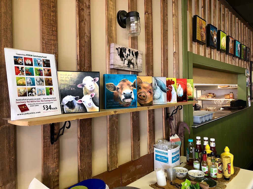 """Photo of Sanctuary Vegan Cafe  by <a href=""""/members/profile/TravelingFly"""">TravelingFly</a> <br/>Interior <br/> March 26, 2018  - <a href='/contact/abuse/image/84135/376502'>Report</a>"""