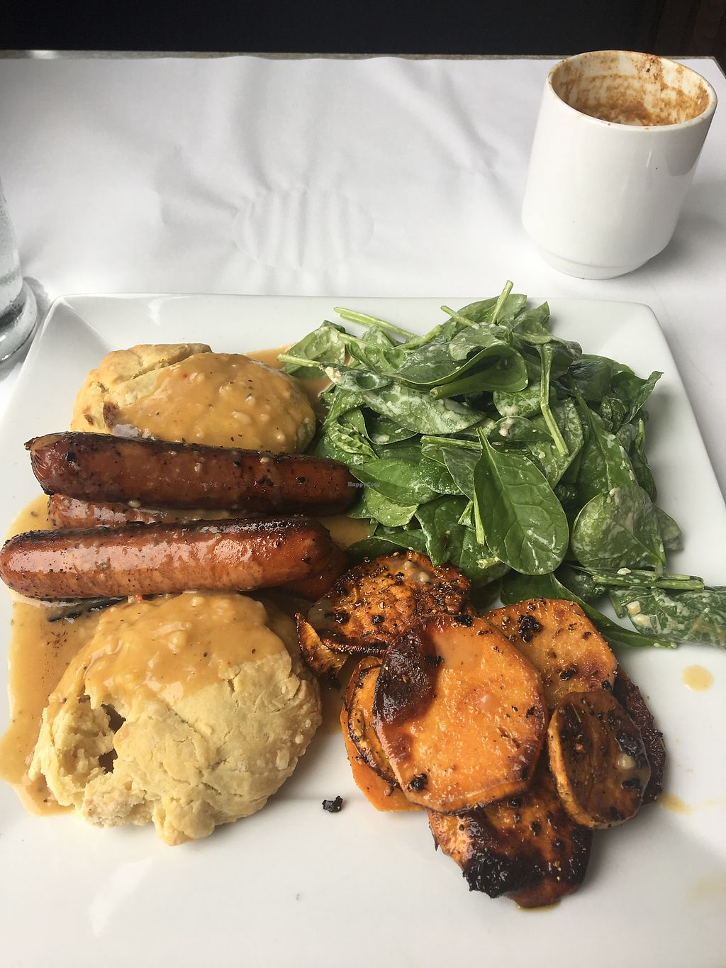 """Photo of Vegano  by <a href=""""/members/profile/Kristyv"""">Kristyv</a> <br/>Biscuits and gravy ?? <br/> October 15, 2017  - <a href='/contact/abuse/image/84140/315551'>Report</a>"""