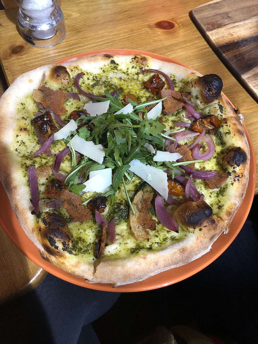 """Photo of Aperitivo  by <a href=""""/members/profile/ElTorto"""">ElTorto</a> <br/>Mr. Green Vegan + Vegan Bacon <br/> February 17, 2018  - <a href='/contact/abuse/image/84146/360563'>Report</a>"""