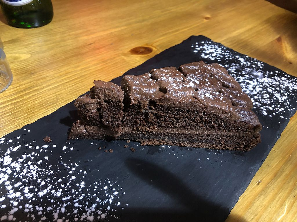 """Photo of Aperitivo  by <a href=""""/members/profile/ElTorto"""">ElTorto</a> <br/>Vegan Chocolate Cake <br/> February 17, 2018  - <a href='/contact/abuse/image/84146/360564'>Report</a>"""