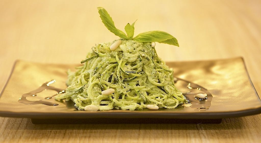 """Photo of HappyRaw Natural Restaurant  by <a href=""""/members/profile/HappyRawFaenza"""">HappyRawFaenza</a> <br/>Noddles Zucchini Pesto <br/> December 19, 2016  - <a href='/contact/abuse/image/84156/202886'>Report</a>"""