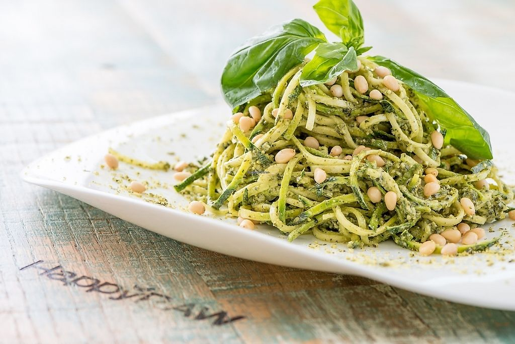 """Photo of HappyRaw Natural Restaurant  by <a href=""""/members/profile/HappyRawFaenza"""">HappyRawFaenza</a> <br/>Spaghetti al pesto raw <br/> May 5, 2017  - <a href='/contact/abuse/image/84156/255895'>Report</a>"""