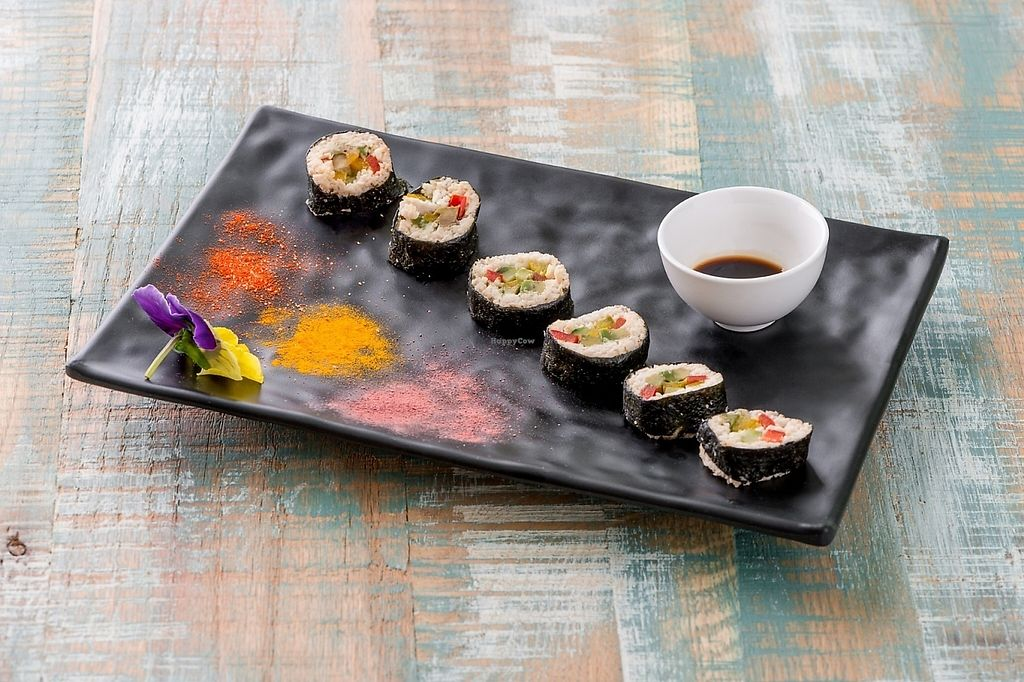 """Photo of HappyRaw Natural Restaurant  by <a href=""""/members/profile/HappyRawFaenza"""">HappyRawFaenza</a> <br/>makiroll sushi  <br/> May 5, 2017  - <a href='/contact/abuse/image/84156/255897'>Report</a>"""