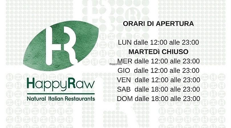 """Photo of HappyRaw Natural Restaurant  by <a href=""""/members/profile/HappyRawFaenza"""">HappyRawFaenza</a> <br/>When we are open: <br/> June 28, 2017  - <a href='/contact/abuse/image/84156/274320'>Report</a>"""