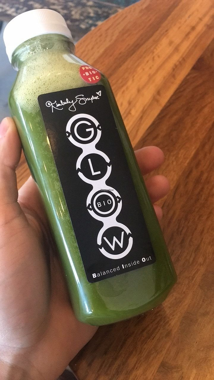 """Photo of CLOSED: Kimberly Snyder's Glow Bio  by <a href=""""/members/profile/thejonblake"""">thejonblake</a> <br/>I always swing by Glow Bio whenever I am in LA. It's great juice bar with lots of options! <br/> June 20, 2017  - <a href='/contact/abuse/image/84182/271425'>Report</a>"""