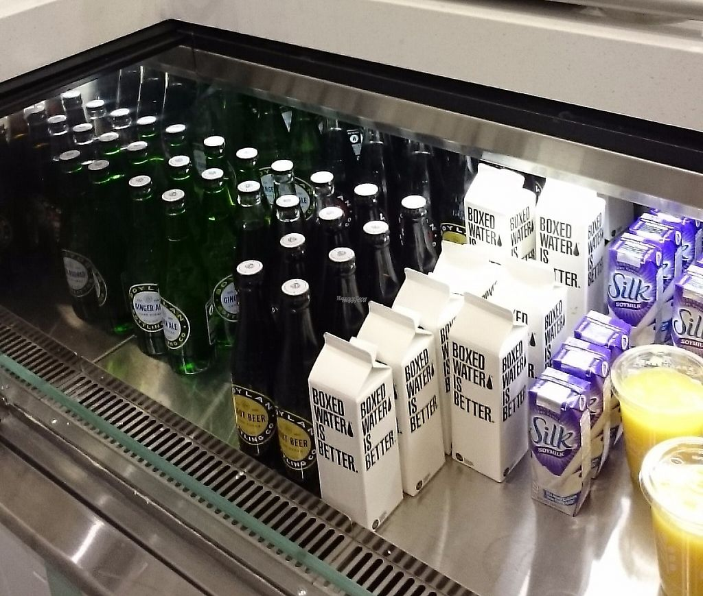 """Photo of HipCityVeg - Broad St  by <a href=""""/members/profile/ZoraySpielvogel"""">ZoraySpielvogel</a> <br/>Some of the drinks.  <br/> December 25, 2016  - <a href='/contact/abuse/image/84195/223398'>Report</a>"""