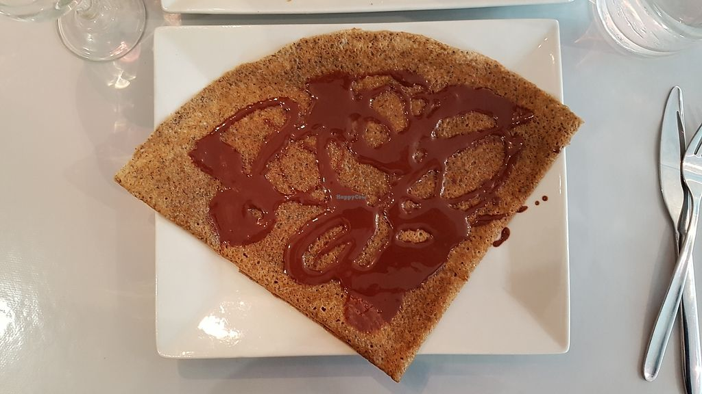 "Photo of Ty Veg  by <a href=""/members/profile/StephanieDion"">StephanieDion</a> <br/>Hazelnut spread galette (V + GF) <br/> July 27, 2017  - <a href='/contact/abuse/image/84208/285677'>Report</a>"