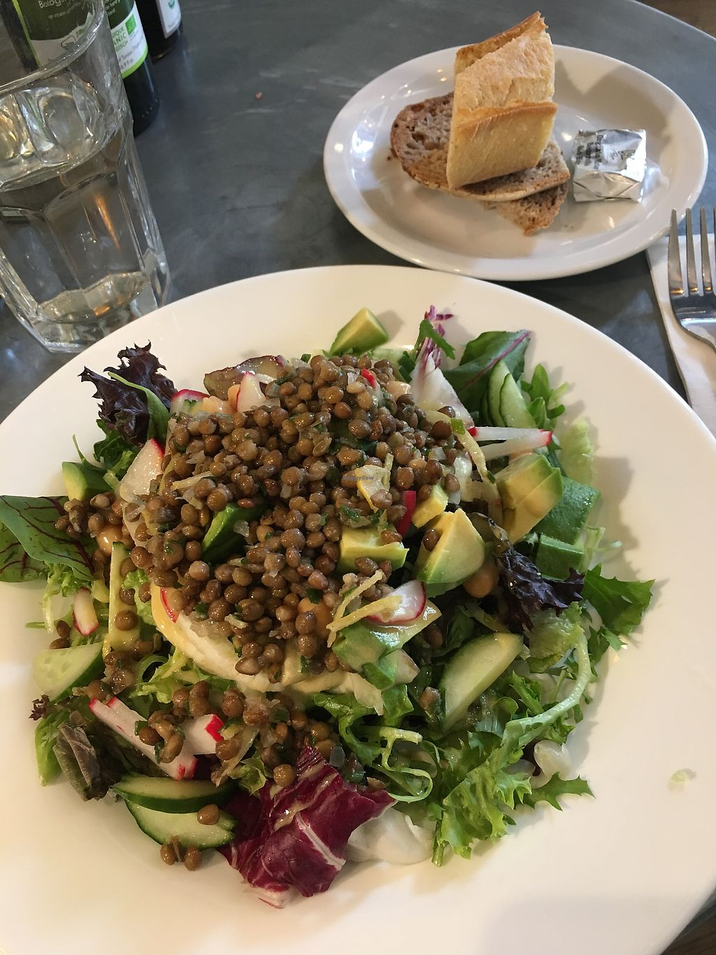 "Photo of Le Pain Quotidien - Nieuwezijds  by <a href=""/members/profile/danielaj"">danielaj</a> <br/>vegan marked salad!!!! just what you need <br/> August 1, 2017  - <a href='/contact/abuse/image/84213/287612'>Report</a>"