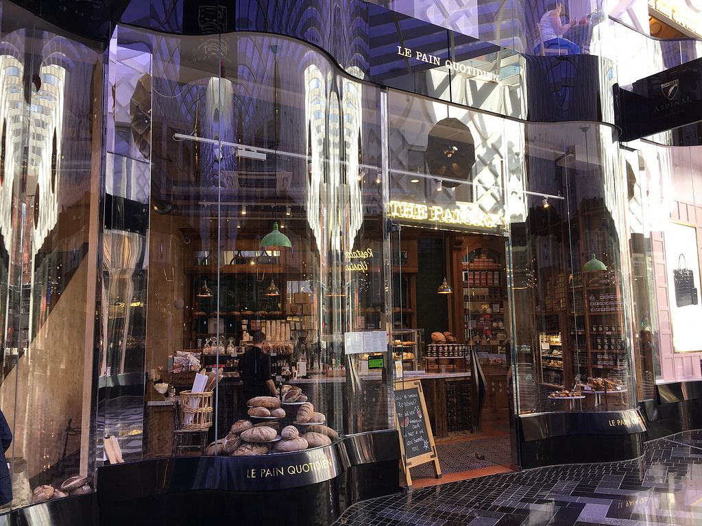 """Photo of Le Pain Quotidien  by <a href=""""/members/profile/hack_man"""">hack_man</a> <br/>outside  <br/> August 5, 2017  - <a href='/contact/abuse/image/84214/289171'>Report</a>"""