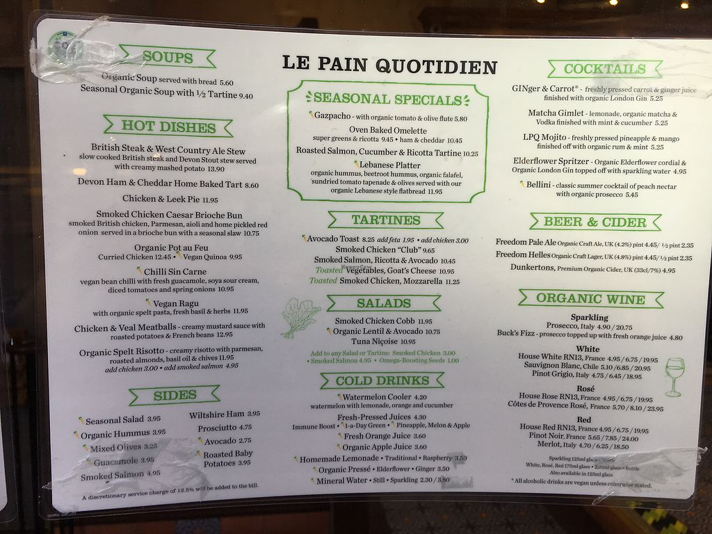 """Photo of Le Pain Quotidien  by <a href=""""/members/profile/hack_man"""">hack_man</a> <br/>menu <br/> August 5, 2017  - <a href='/contact/abuse/image/84214/289172'>Report</a>"""