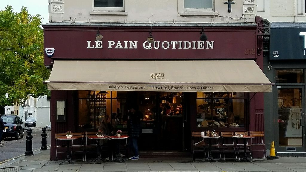 "Photo of Le Pain Quotidien - Fulham Rd  by <a href=""/members/profile/eric"">eric</a> <br/>outside <br/> October 10, 2017  - <a href='/contact/abuse/image/84217/313886'>Report</a>"