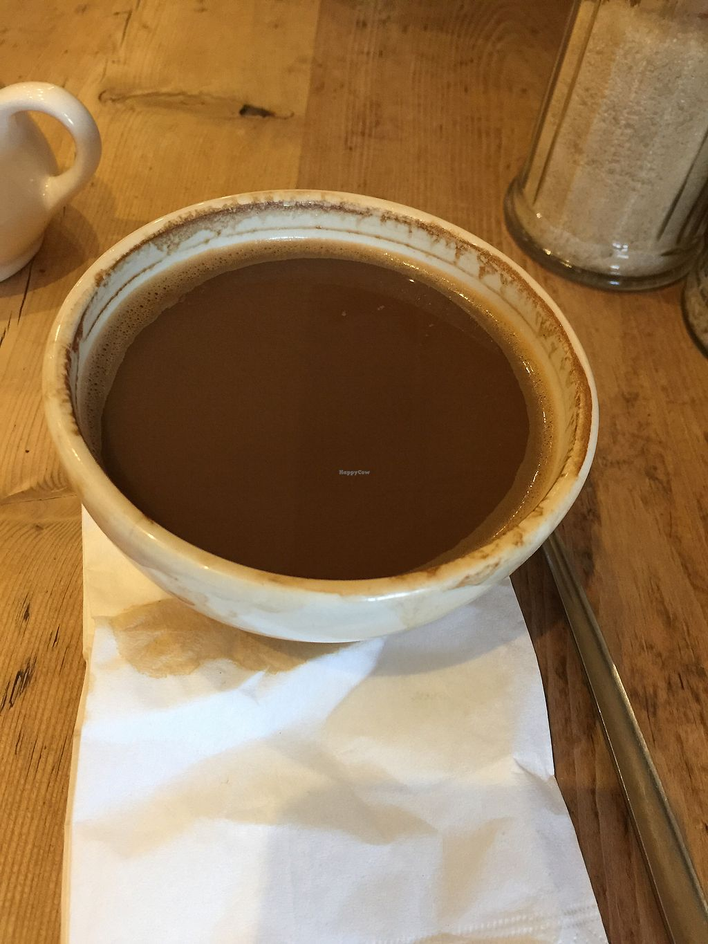 "Photo of Le Pain Quotidien - Westfield  by <a href=""/members/profile/AnuradhaMathur"">AnuradhaMathur</a> <br/>Shallow bowls spilling coffee no room for milk <br/> April 1, 2018  - <a href='/contact/abuse/image/84231/379374'>Report</a>"