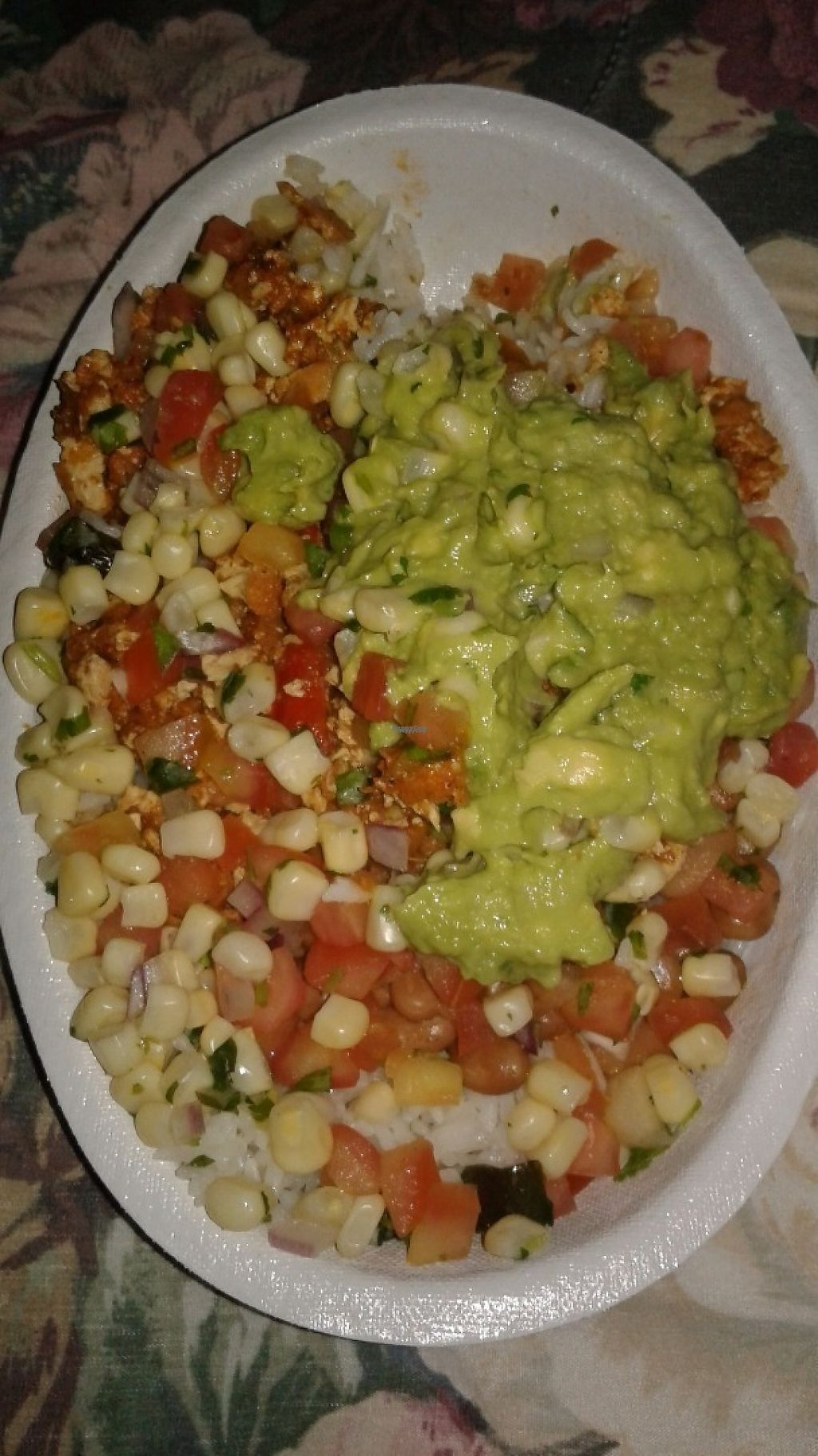 """Photo of Chipotle   by <a href=""""/members/profile/anastronomy"""">anastronomy</a> <br/>Extra  $ for guacamole  <br/> April 27, 2017  - <a href='/contact/abuse/image/84240/252886'>Report</a>"""