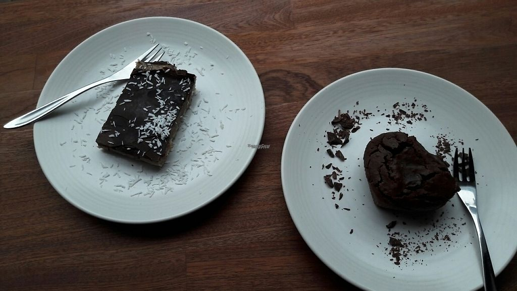 """Photo of Venchi  by <a href=""""/members/profile/piffelina"""">piffelina</a> <br/>Dessert - caramel cake and brownie <br/> March 25, 2017  - <a href='/contact/abuse/image/84263/240680'>Report</a>"""