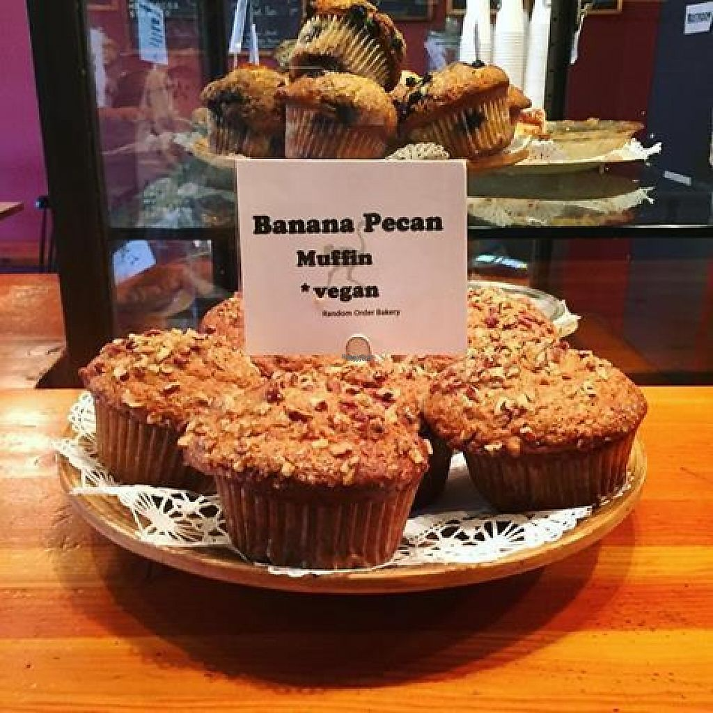 """Photo of Random Order Pie Bar  by <a href=""""/members/profile/community"""">community</a> <br/>Vegan muffins <br/> December 20, 2016  - <a href='/contact/abuse/image/84269/203167'>Report</a>"""