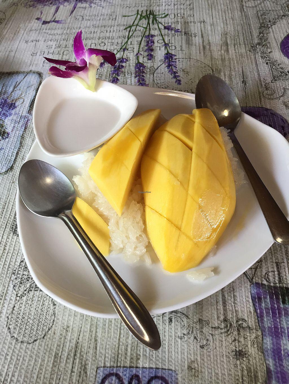 """Photo of Jungle Kitchen  by <a href=""""/members/profile/VillVanilje"""">VillVanilje</a> <br/>Mango sticky rice  <br/> October 16, 2017  - <a href='/contact/abuse/image/84313/315782'>Report</a>"""