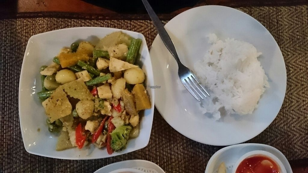 """Photo of Natural Restaurant  by <a href=""""/members/profile/Primrose"""">Primrose</a> <br/>Vegetable green curry  <br/> February 18, 2017  - <a href='/contact/abuse/image/84315/227830'>Report</a>"""