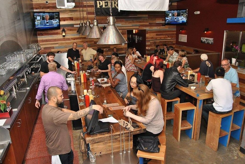 """Photo of Links N Hops  by <a href=""""/members/profile/community"""">community</a> <br/>A gourmet sausage eatery located in Atwater Village featuring 24 domestic and international craft beers on tap.   <br/> January 23, 2017  - <a href='/contact/abuse/image/84316/215277'>Report</a>"""