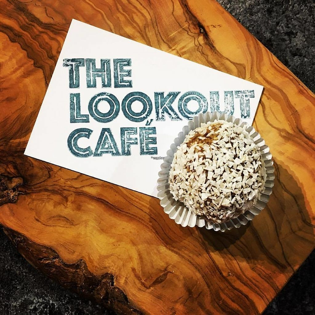 """Photo of The Lookout Juice Bar  by <a href=""""/members/profile/Uniquerkw"""">Uniquerkw</a> <br/>Protein ball <br/> December 31, 2016  - <a href='/contact/abuse/image/84320/206472'>Report</a>"""