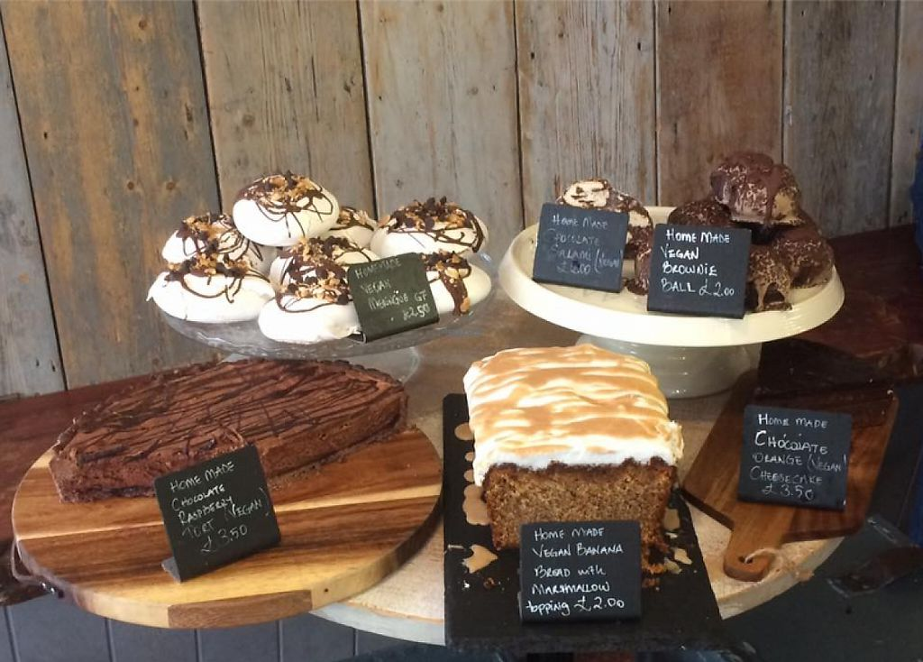 """Photo of Our Cornish Pasty Shop  by <a href=""""/members/profile/community"""">community</a> <br/>Vegan Cakes at Our Cornish Pasty Shop <br/> January 23, 2017  - <a href='/contact/abuse/image/84324/215311'>Report</a>"""