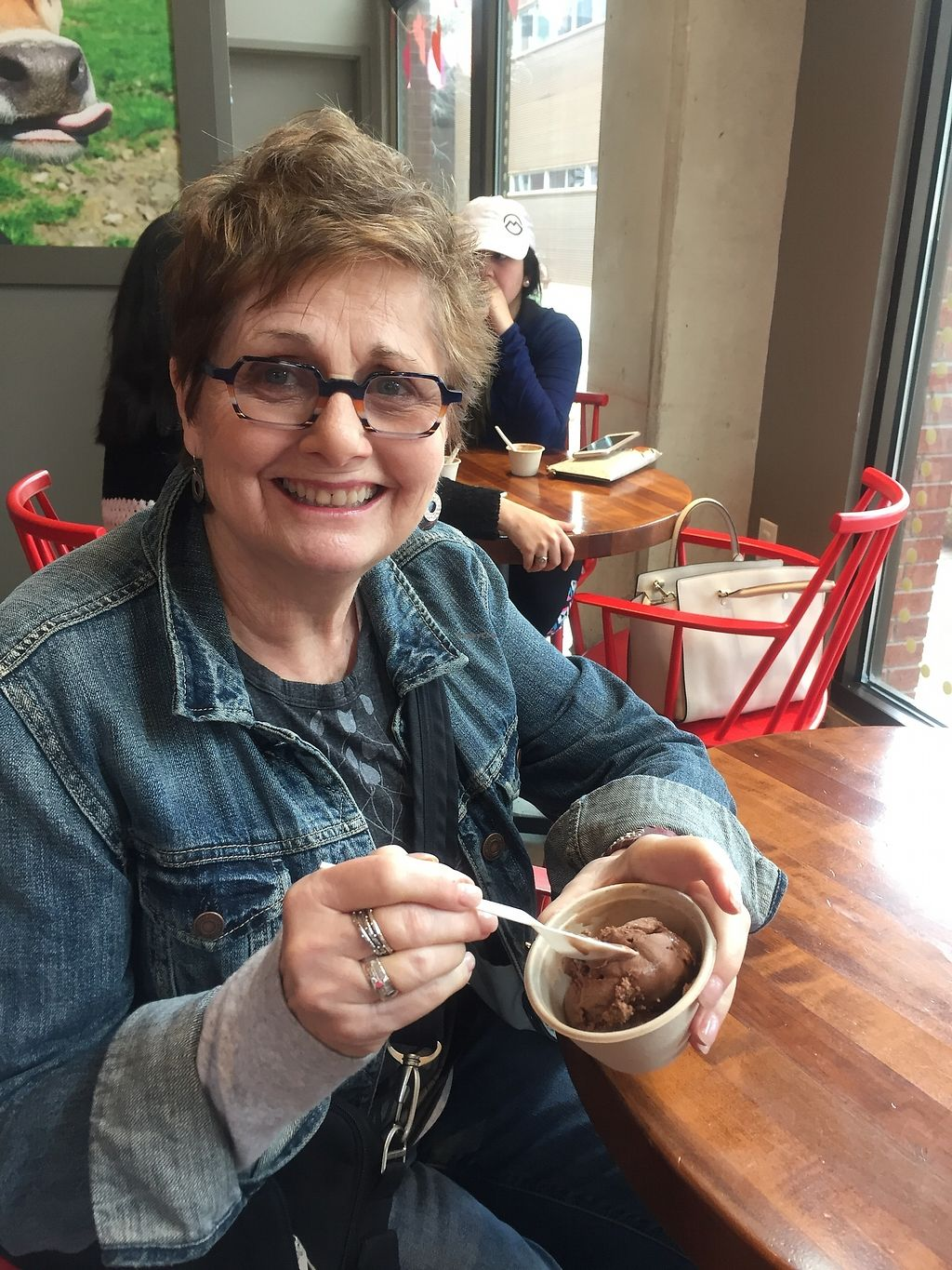 "Photo of Lick Honest Ice Creams  by <a href=""/members/profile/Suz"">Suz</a> <br/>Suggested this woman try vegan! She loved it! <br/> February 18, 2018  - <a href='/contact/abuse/image/84352/360643'>Report</a>"