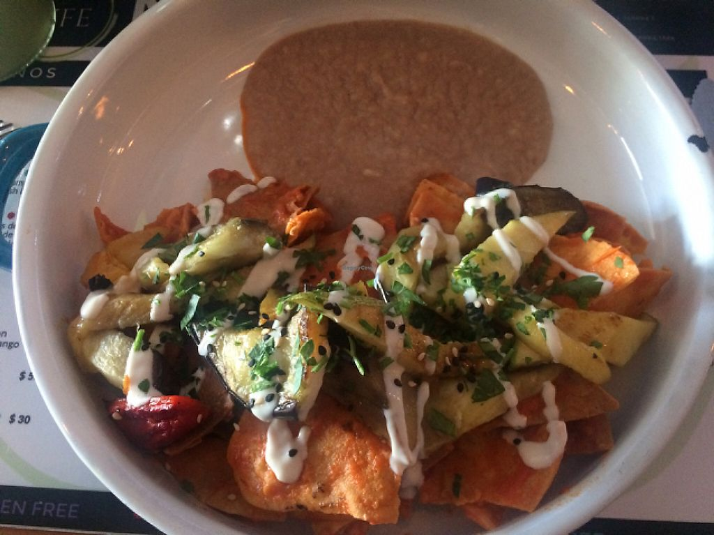 """Photo of Lyfe Market  by <a href=""""/members/profile/vivzan"""">vivzan</a> <br/>vegan chilaquiles! <br/> May 14, 2017  - <a href='/contact/abuse/image/84354/258780'>Report</a>"""