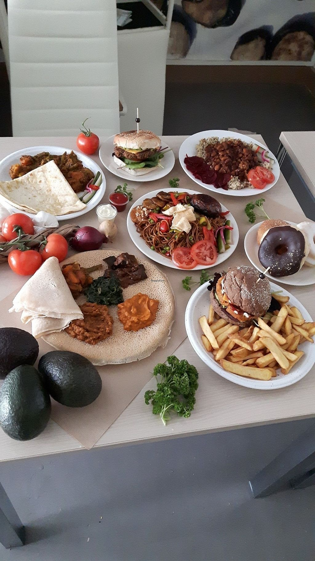 """Photo of Mooshka  by <a href=""""/members/profile/Mushka"""">Mushka</a> <br/>Some of the meals offered at Mooshka <br/> May 7, 2017  - <a href='/contact/abuse/image/84357/256662'>Report</a>"""