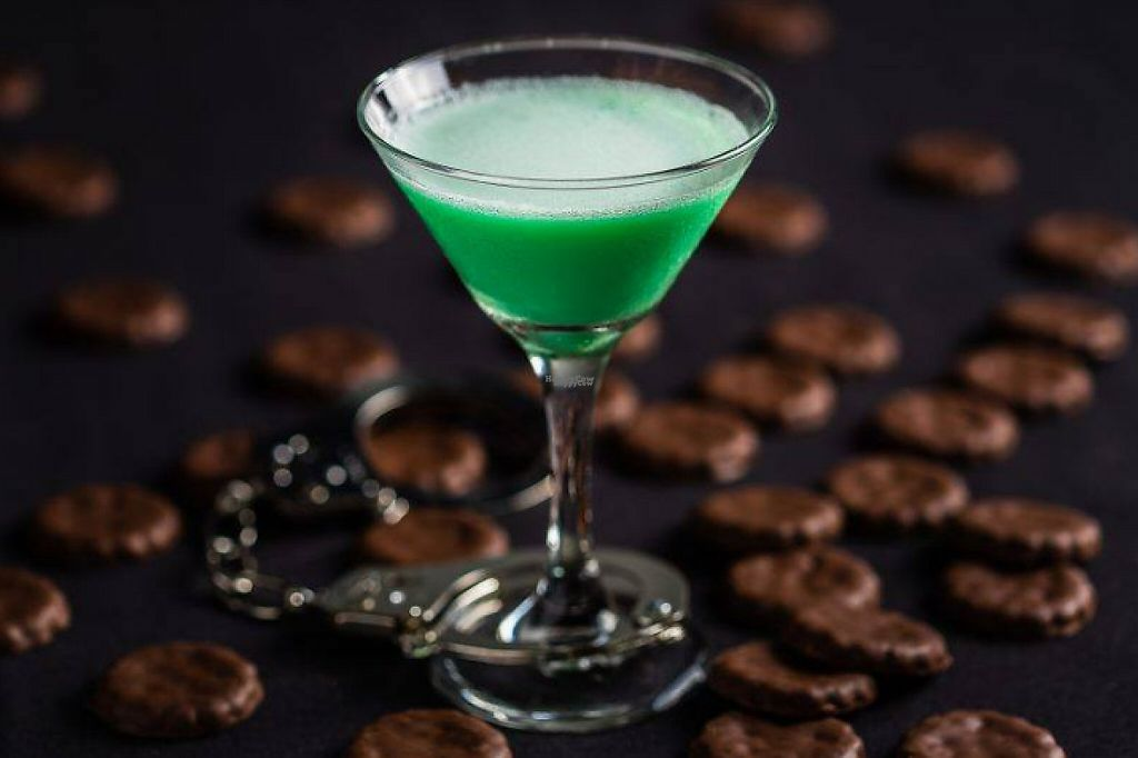 "Photo of Alamo Drafthouse Cinema  by <a href=""/members/profile/community"">community</a> <br/>Alamo Drafthouse Cinema is introducing Thin Mint Cocktail for their customers <br/> January 24, 2017  - <a href='/contact/abuse/image/84360/215623'>Report</a>"