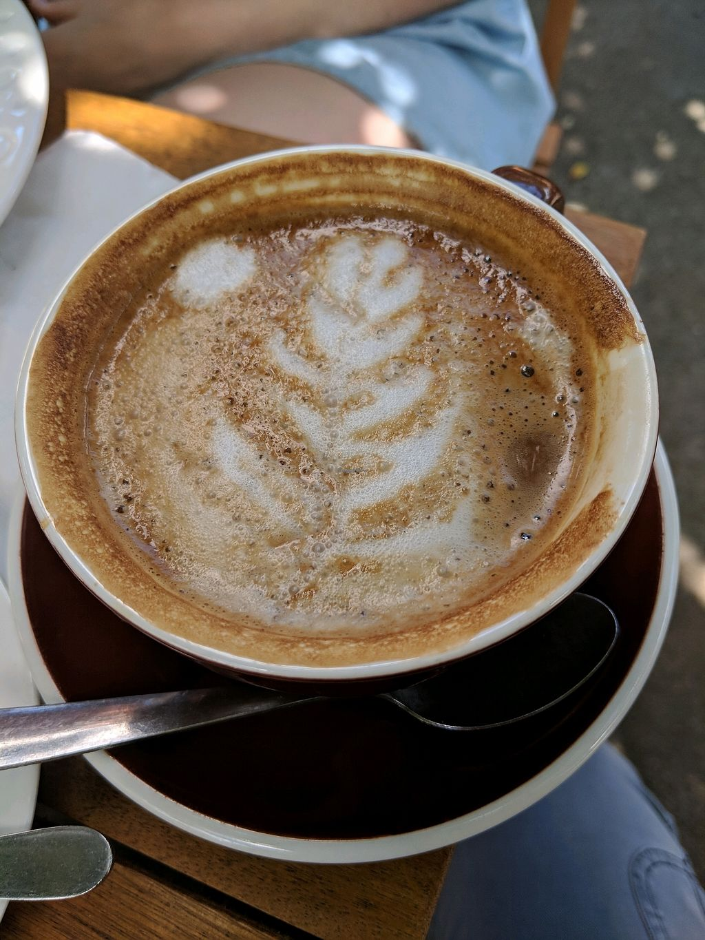 """Photo of Brown Sugar Cafe  by <a href=""""/members/profile/jesse558"""">jesse558</a> <br/>Almond latte <br/> February 22, 2018  - <a href='/contact/abuse/image/84363/362306'>Report</a>"""
