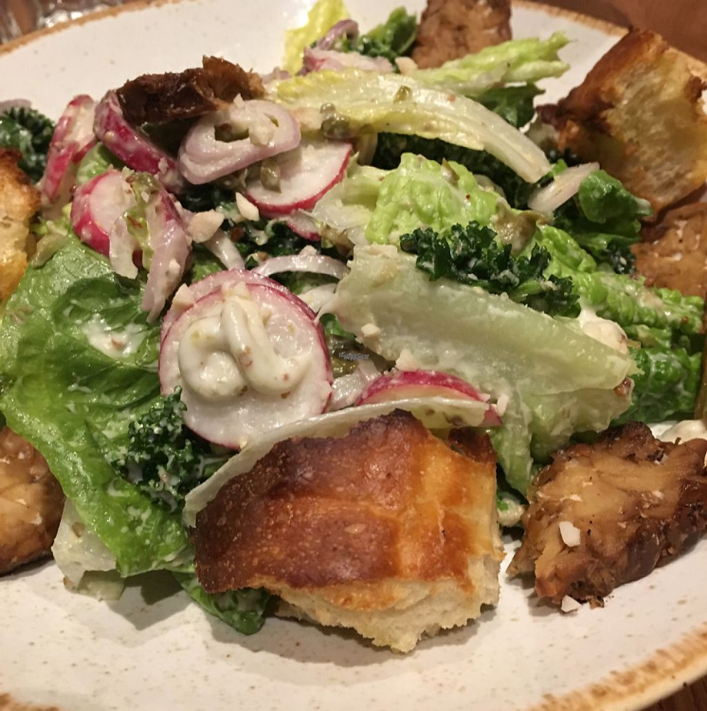 """Photo of Four One Six  by <a href=""""/members/profile/SaraMolin"""">SaraMolin</a> <br/>Cesar salad <br/> February 28, 2017  - <a href='/contact/abuse/image/84392/231229'>Report</a>"""