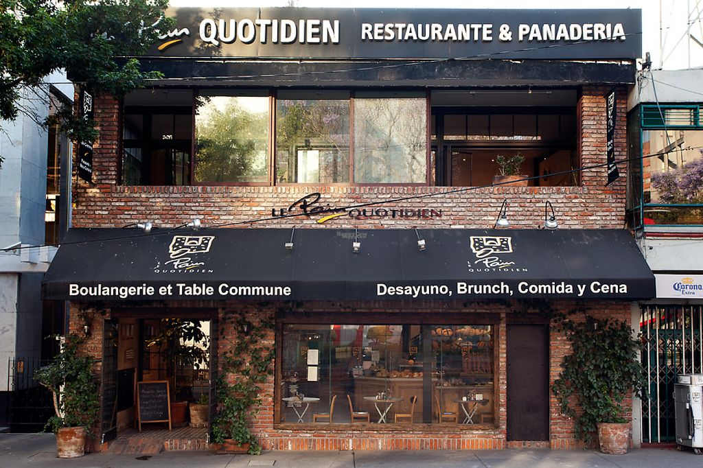 "Photo of Le Pain Quotidien - Insurgentes Sur  by <a href=""/members/profile/community"">community</a> <br/>outside location <br/> February 3, 2017  - <a href='/contact/abuse/image/84400/221452'>Report</a>"