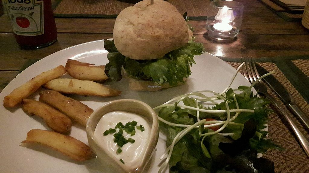"Photo of Reform Kafe  by <a href=""/members/profile/TaliRadin"">TaliRadin</a> <br/>mushroom tufo burger <br/> March 9, 2018  - <a href='/contact/abuse/image/84403/368473'>Report</a>"