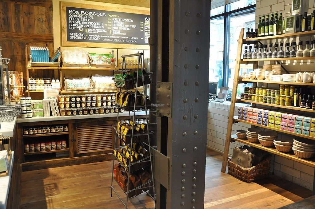 """Photo of Le Pain Quotidien - W Loop  by <a href=""""/members/profile/community"""">community</a> <br/>Come watch our bakers at work while you enjoy a cup of organic coffee or a Belgian tartine at the communal table.   <br/> January 25, 2017  - <a href='/contact/abuse/image/84412/216593'>Report</a>"""