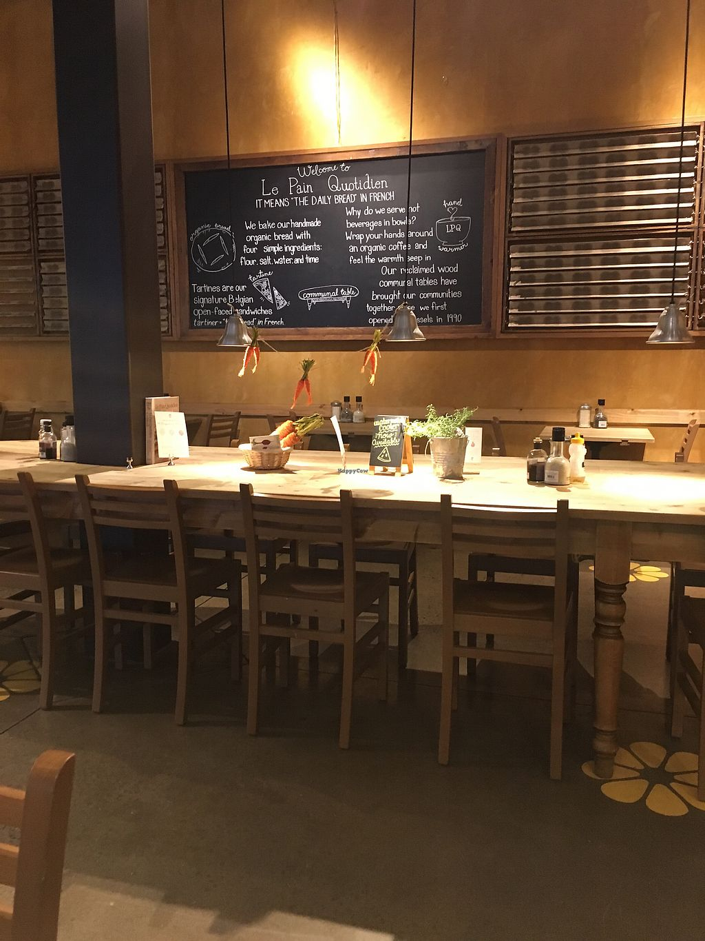 "Photo of Le Pain Quotidien  by <a href=""/members/profile/ralphsnowman"">ralphsnowman</a> <br/>area <br/> August 18, 2017  - <a href='/contact/abuse/image/84415/294109'>Report</a>"