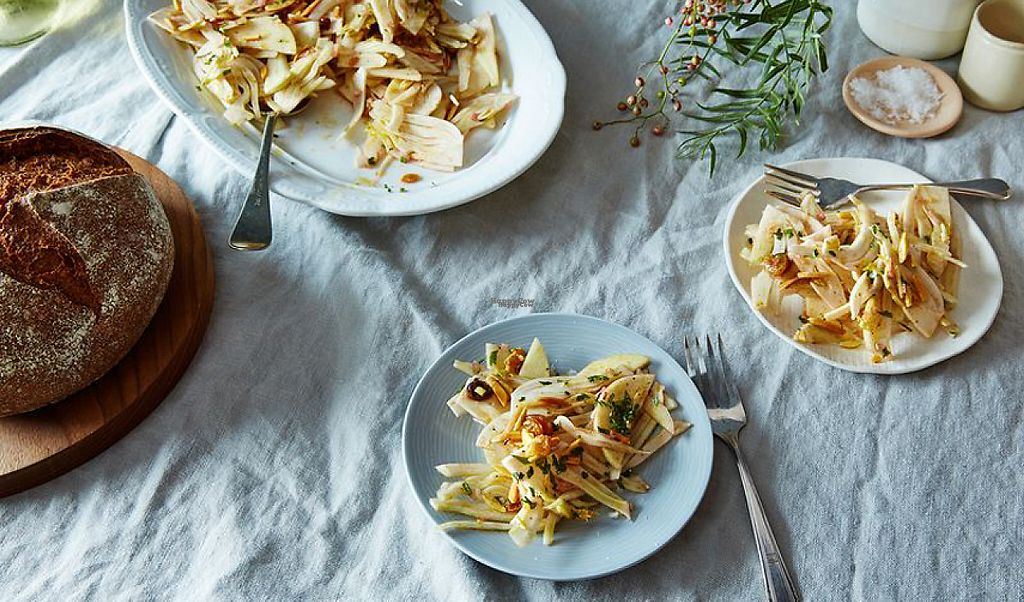 """Photo of Le Pain Quotidien  by <a href=""""/members/profile/community"""">community</a> <br/>Shaved Fennel and Apple Salad  <br/> January 25, 2017  - <a href='/contact/abuse/image/84423/216722'>Report</a>"""