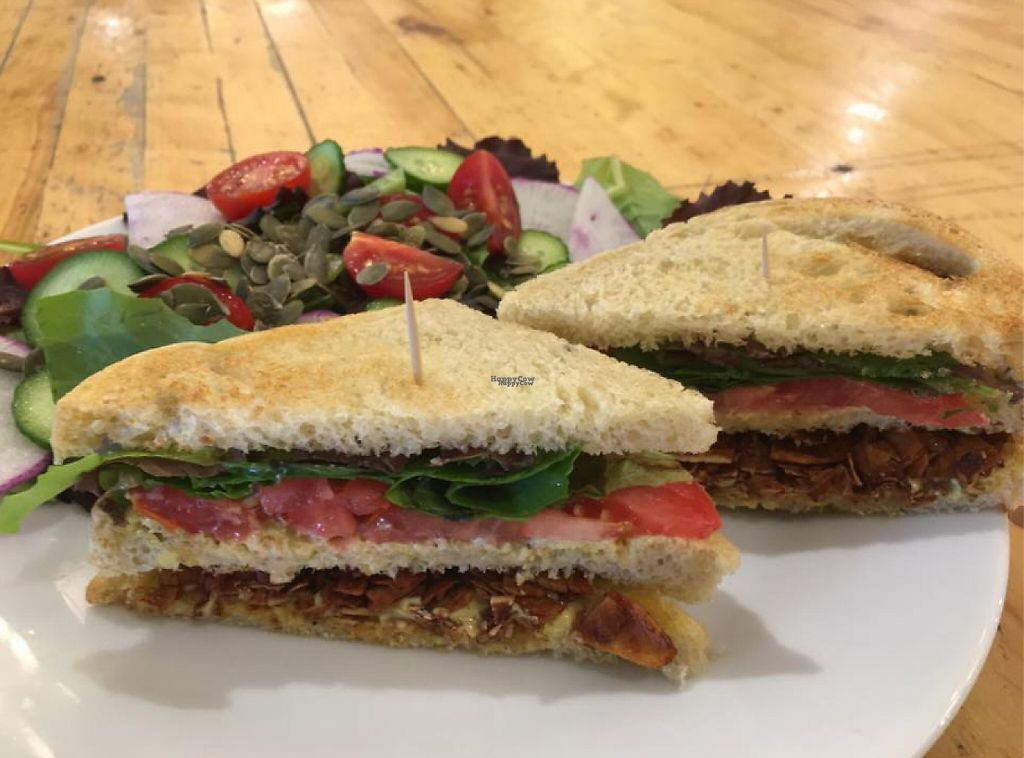 "Photo of Rose Cafe  by <a href=""/members/profile/community"">community</a> <br/>Vegan Sandwich <br/> January 25, 2017  - <a href='/contact/abuse/image/84424/216721'>Report</a>"