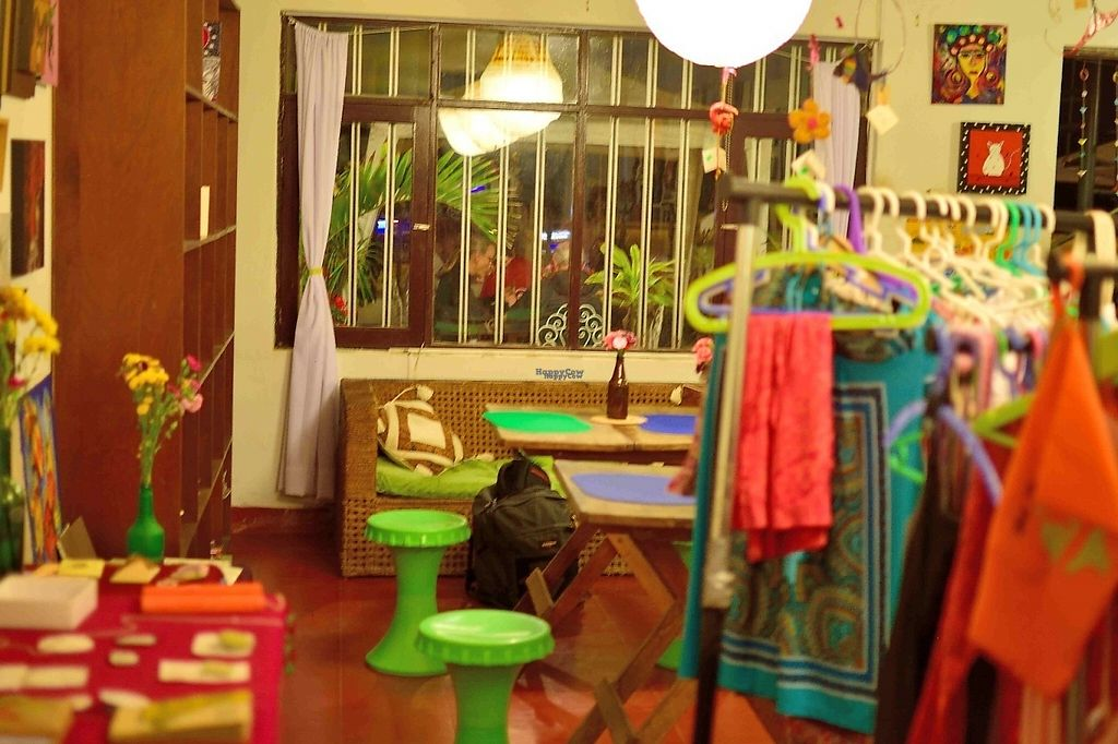 """Photo of Corazon Verde  by <a href=""""/members/profile/karolus"""">karolus</a> <br/>Inside, the eating room shares space with some nice handmade crafts <br/> January 6, 2017  - <a href='/contact/abuse/image/84426/208671'>Report</a>"""