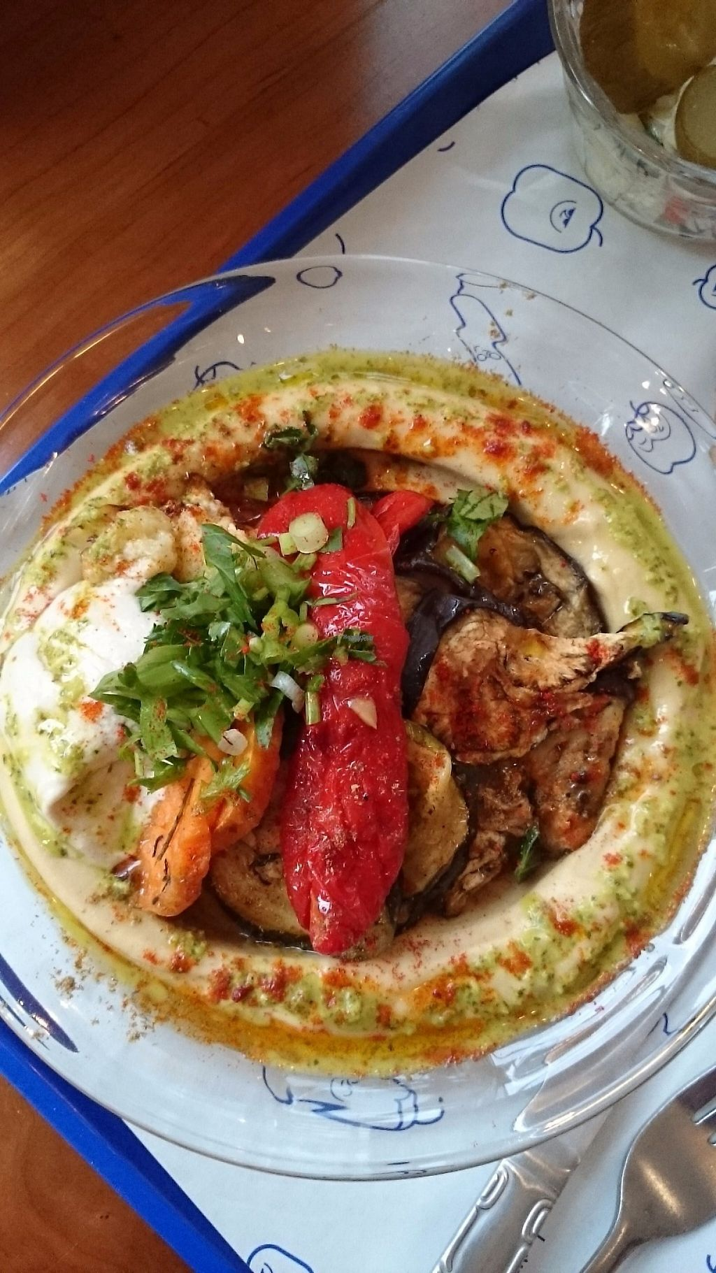 """Photo of Hummusology  by <a href=""""/members/profile/ZoraySpielvogel"""">ZoraySpielvogel</a> <br/>Vegetables Rave hummus plater.  <br/> December 25, 2016  - <a href='/contact/abuse/image/84450/204661'>Report</a>"""
