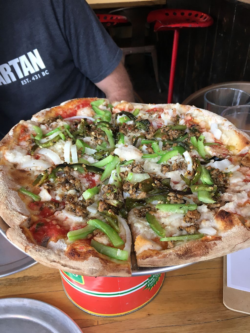 "Photo of Piante Pizzeria  by <a href=""/members/profile/kberhost"">kberhost</a> <br/>Sooooo good!  <br/> July 24, 2017  - <a href='/contact/abuse/image/84461/284407'>Report</a>"