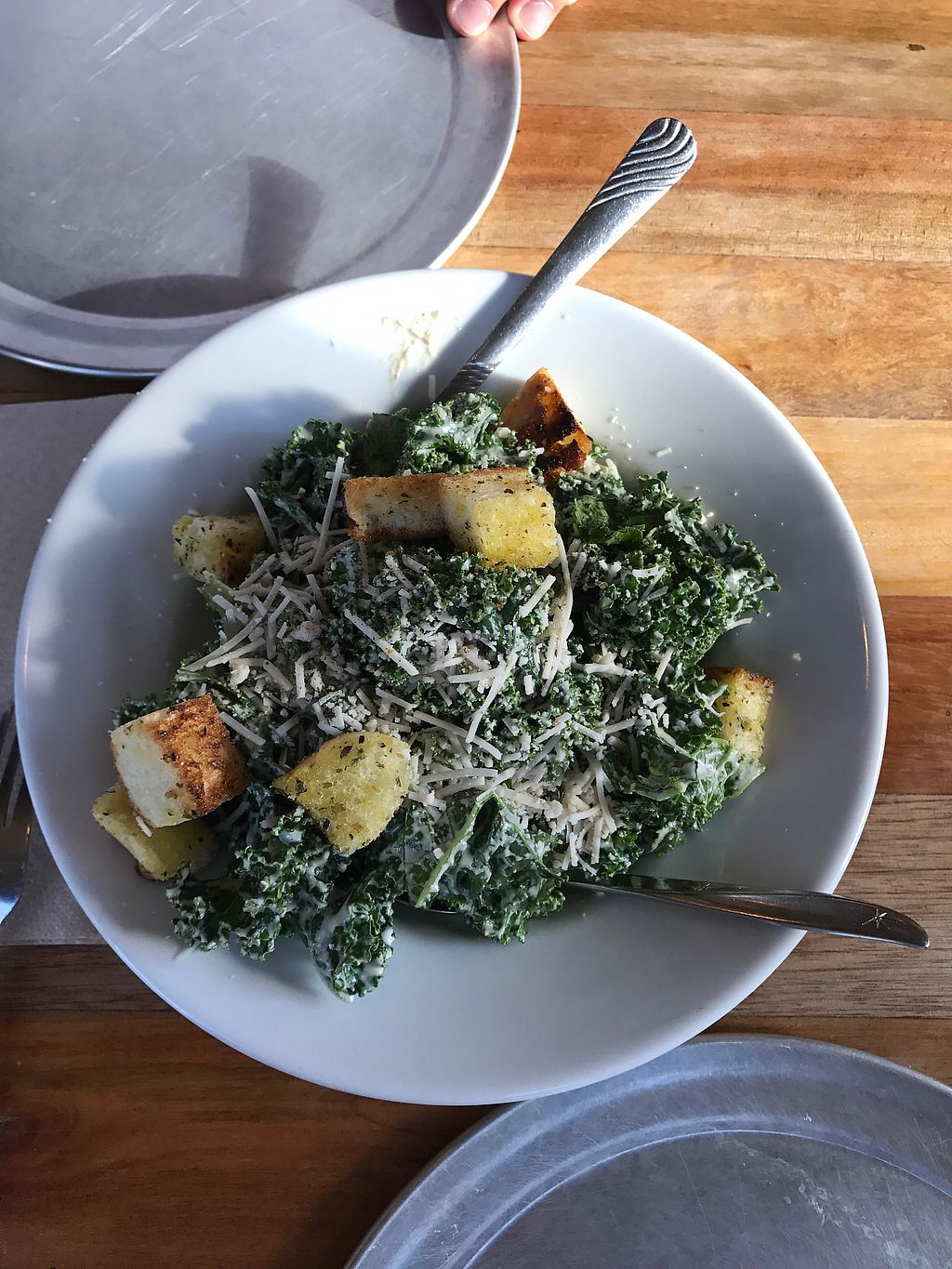 "Photo of Piante Pizzeria  by <a href=""/members/profile/JulieLane"">JulieLane</a> <br/>Kale Caesar Salad <br/> July 25, 2017  - <a href='/contact/abuse/image/84461/284717'>Report</a>"