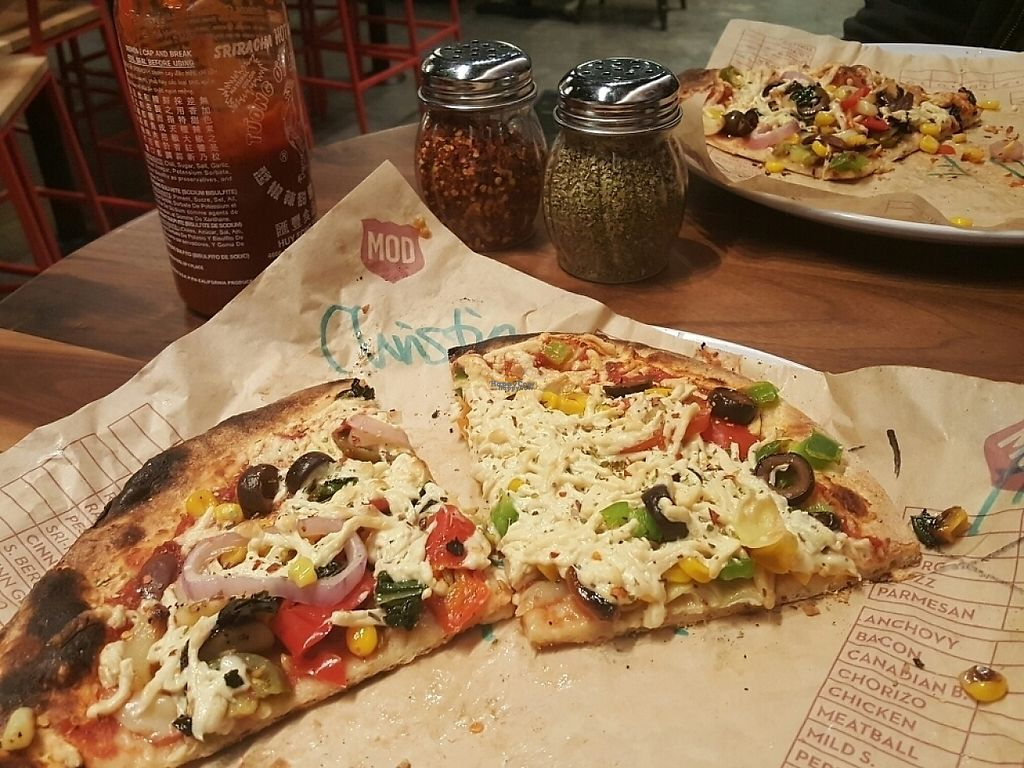 "Photo of Mod Pizza  by <a href=""/members/profile/ChristinaSword"">ChristinaSword</a> <br/>Toppings are under the cheeze <br/> December 29, 2016  - <a href='/contact/abuse/image/84464/205849'>Report</a>"