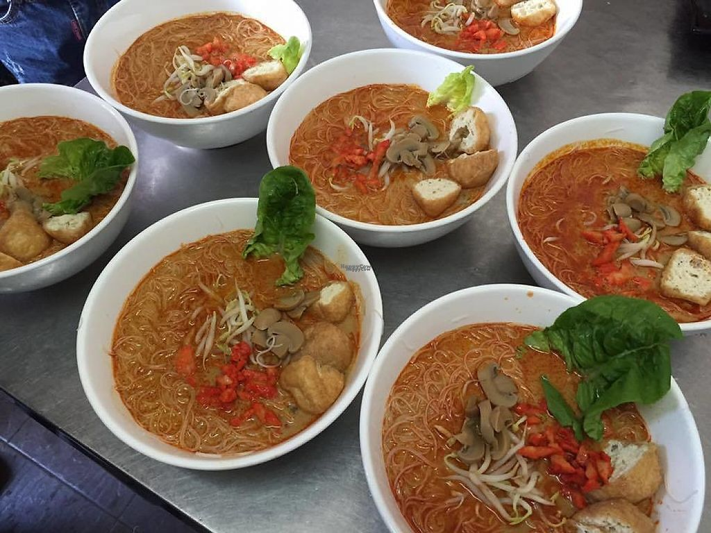 "Photo of Vgtarian Cafe  by <a href=""/members/profile/community"">community</a> <br/>noodle soup