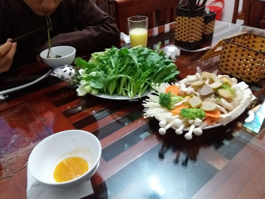 """Photo of Cat Tuong Lan  by <a href=""""/members/profile/veganvirtues"""">veganvirtues</a> <br/>Lau (hot pot) <br/> January 3, 2017  - <a href='/contact/abuse/image/84511/207604'>Report</a>"""
